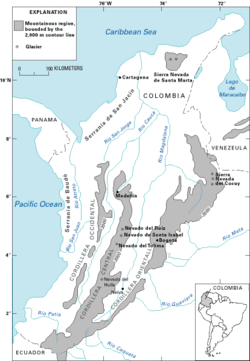 Geography of Colombia - Wikipedia