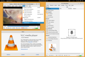 VLC 3.0.10 running on Linux and GNOME Shell.png