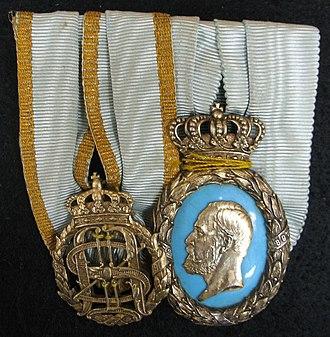 Royal Jubilee Commemorative Medals - Image: VM20400 21