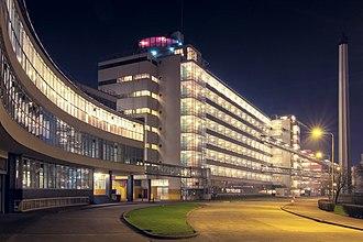 Leendert van der Vlugt - Van Nelle Factory in Rotterdam by Leendert van der Vlugt (and Mart Stam), 1927-30