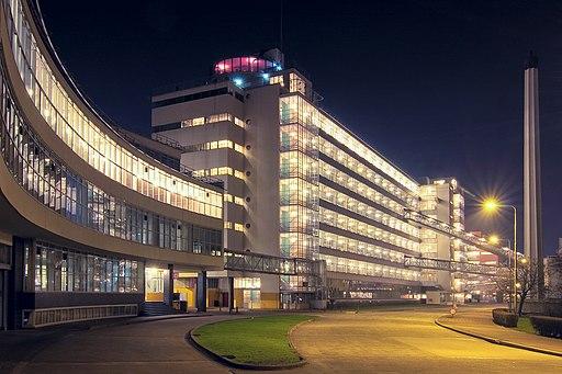 Van-Nelle-Fabrik, Rotterdam (UNESCO-Weltkulturerbe).