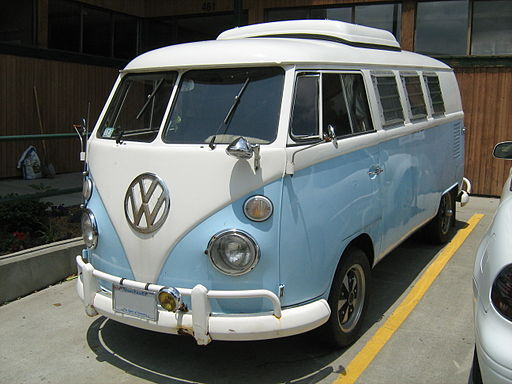 VW camper ASU blueandwhite fl