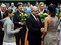 Valeria Solovyeva i Raluca Olaru BNP Paribas Katowice Open 2013 (4).jpg