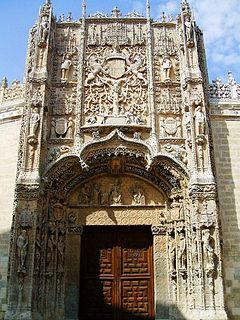 Colegio de San Gregorio cultural property in Valladolid, Spain