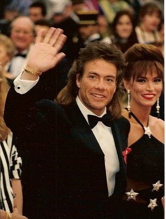 Jean-Claude Van Damme - Jean-Claude Van Damme at the Cannes Film Festival in 1993