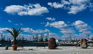 port in Bulgaria