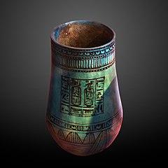 Vase dedicated to Ramesses II-E 11094 b