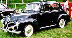 Vauxhall Wyvern LIX 4-Door Saloon 1948 - 1951