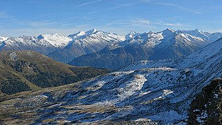 High Tauern A mountain range of the eastern Alps