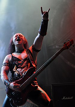 "Venom, Conrad ""Cronos"" Lant at Party.San Metal Open Air 2013 12.jpg"
