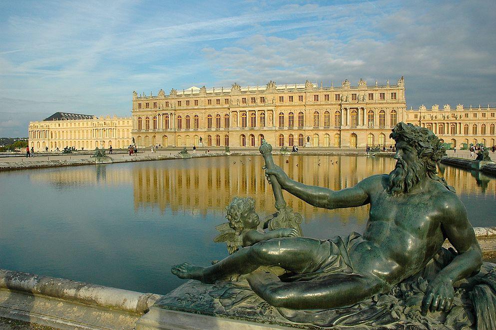 Дворец версаль  № 1743550 бесплатно