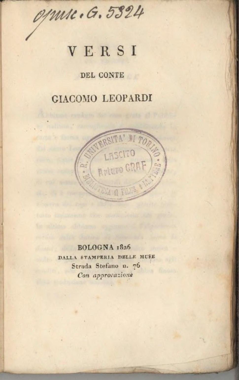 Versi del conte Giacomo Leopardi.djvu