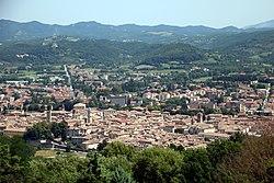 Via di Francesco (percorso del nord), Città di Castello,da La Montesca a Città di Castello 02.jpg