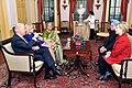 Vice-President Biden, Secretary Clinton Co-Host Social Lunch in Honor of Indian Prime Minister (4373961798).jpg