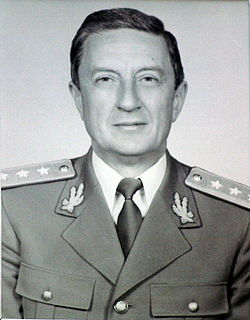 Victor Stănculescu Romanian general and politician, Minister of National Defence (1990–1991)