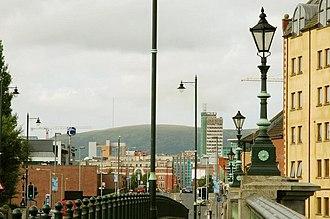 Andrew Handyside and Company - Handyside streetlamps in Belfast.