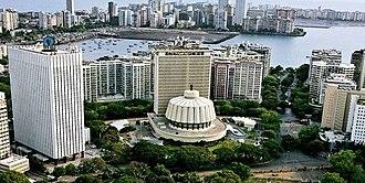 Maharashtra Legislative Assembly - Image: Vidhan Bhavan aerial view