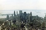 View from a New York Airways helicopter flying between the roof of the Pan-Am building in downtown New York City to JFK airport, 1967 (544489847).jpg