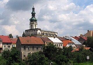 Polná Town in Vysočina, Czech Republic