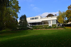 Villa Tugendhat - View from the garden