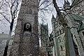 Vilhelm Andreas WEXELSEN (1849–1909) Norskdom og kristendom Bauta monument byste portrett Gravminne Gravestone Nidarosdomen Nidaros Cathedral Trondheim Norway 2019-03-20 09659.jpg