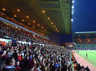 Aston - Villa Park, home of Aston Villa F.C.