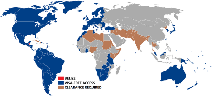 Visa Policy Of Belize Wikipedia