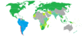 Visa requirements for Chilean citizens.png