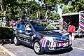 Visit Dallas DNA team car in Elk Grove at the start of Stage 3 (34529596960).jpg
