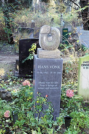English: Hans Vonk, conductor, 1942-2004. &quo...