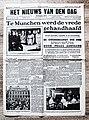 """Voorpagina Vlaams dagblad """"Het Nieuws Van Den Dag"""" 1 oktober 1938.jpg"""