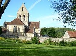 Vue de l'église de Chaillevois côté ouest.jpg