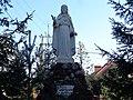 Włocławek-statue of Jesus in garden of Church of the Chirst the King.jpg