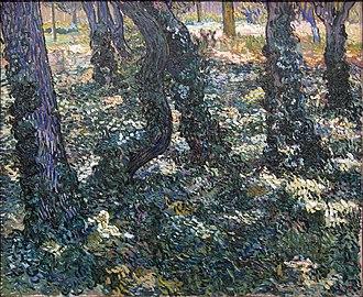 Trees and Undergrowth (Van Gogh series) - Image: WLANL artanonymous Kreupelhout