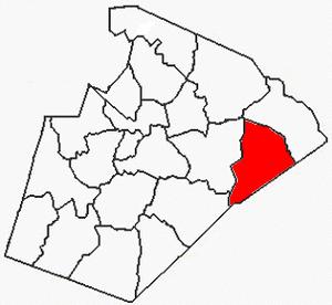 Marks Creek Township, Wake County, North Carolina - Image: Wake County NC Marks Creek Township