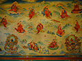 Wall Paintings inside Dharmachakra Centre, Rumtek Monastery.jpg