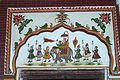 Wall painting ,Kuthar palace,Himachal Prades,India.jpg