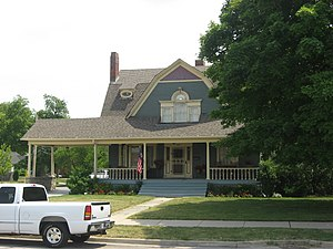 National Register of Historic Places listings in Lake County, Indiana - Image: Walter Allman House