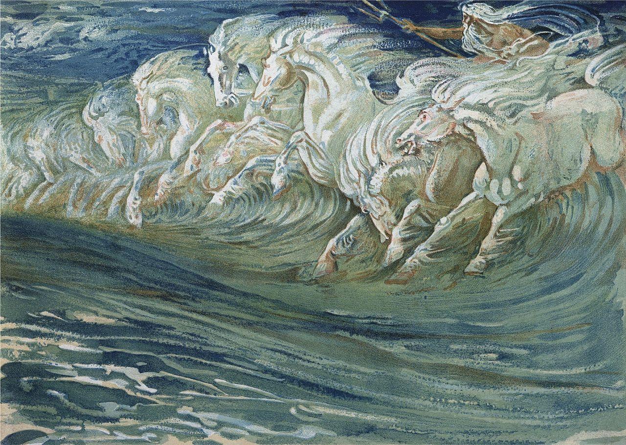 File:Walter Crane - Neptune's Horses (1910).jpg - Wikimedia Commons