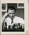 Walter Jursevskis playing chess Walter Jursevskis joue aux échecs.jpg