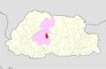 Wangdue Phodrang Phobji Gewog Bhutan location map.png