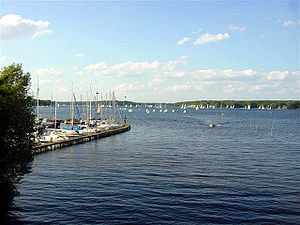 Großer Wannsee - Image: Wannsee