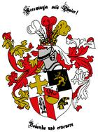 Wappen der KDStV Merowingia Kaiserslautern im CV