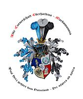 Wappen der Alten Turnerschaft Eberhardina-Markomannia