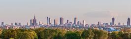 Panorama von Warschau