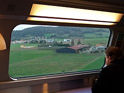 Watching the world go by - from the buffet car of a French high-speed train - Flickr - TeaMeister.jpg