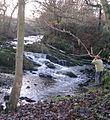 Waterfall, Park Brook, Copster Green - geograph.org.uk - 97831.jpg