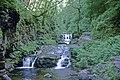 Waterfall at Watersmeet, Devon taken 1967 - geograph.org.uk - 762884.jpg