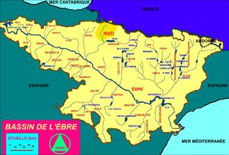 Irati (river) - Image: Watershed of the Irati fr