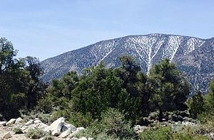 Waucoba Mountain - Image: Waucoba Mountain